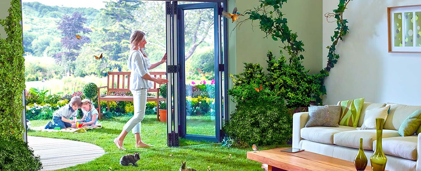 We Manufacture Ultra-performance, PVCu Bi-fold Doors for Trade and Homeowners